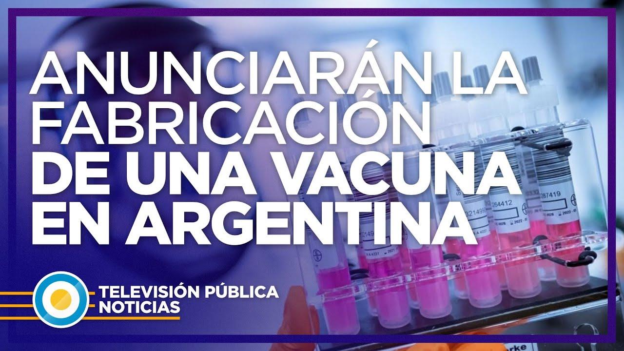 Alberto Fernández anunciará la producción Argentina de una vacuna contra el covid-19
