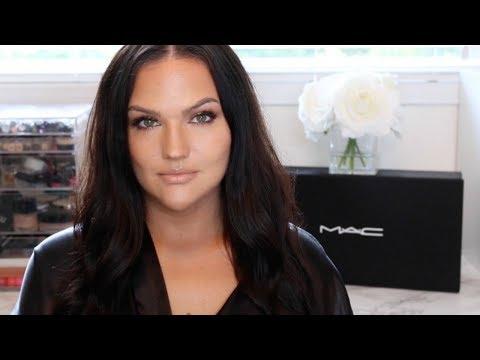 Full Face MAC Cosmetics Makeup Tutorial | Golden Glow