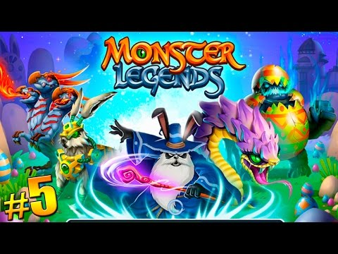 Monster Legends - Isla Laberinto Pascua (Easter Maze Island) The Ringer - Eggeater| #5