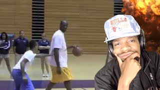 IS THIS A JOKE? BOW WOW vs KOBE 1 on 1 REACTION!!