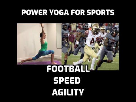 Power Yoga for Sports - Football DVD - Speed & Agililty