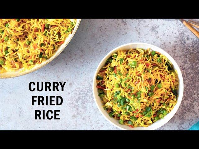 CURRY FRIED RICE 1 Pot 20 Mins | Vegan Richa Recipes