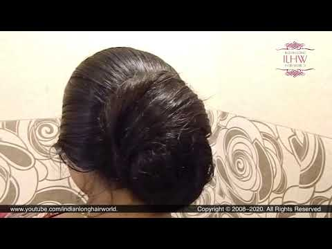Knot Hair  Bun For Long Hair| Quick Knot Hair Bun Hairstyle for Beginners| Tie Your Long Hair in Bun
