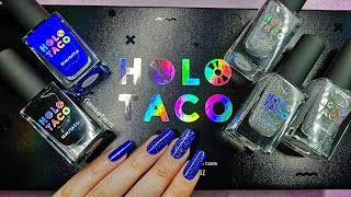 Holo Taco Launch Collection (Swatches & Review)  femketjeNL