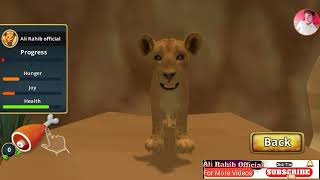 lion family sim online game part 1 episode 1