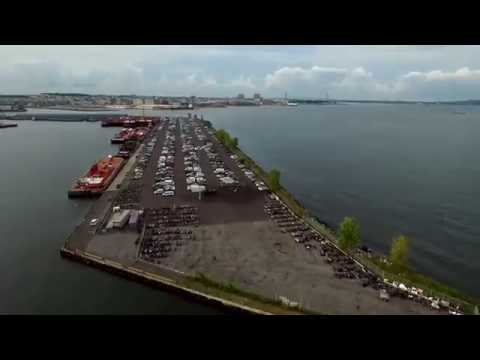 Red Hook Terminal in Brooklyn NY | PHANTOM 3 ADAVANCED |