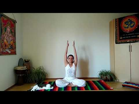 Yoga Asana Deutsch - 35 Minuten -