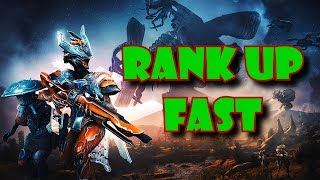 WARFRAME FAST RANK UP AND UPGRADE