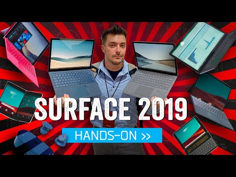 Microsoft Surface 2019: Hands-On With The Future Of Windows (And Android!)