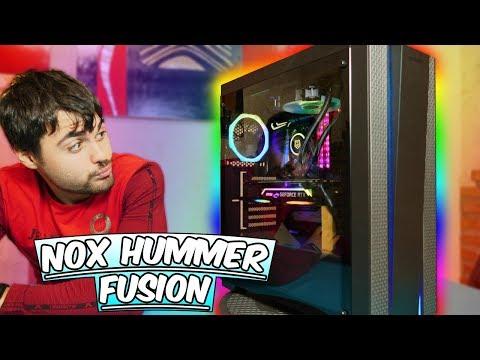 NOX Hummer Fusion Caja PC GAMER 2018 ¿ Merece la pena?