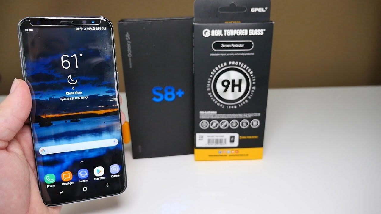 S8 Glas Samsung Galaxy S8 Plus Gpel Tempered Glass Review