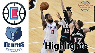 Clippers vs Grizzlies HIGHLIGHTS Full Game | NBA February 26