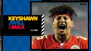 What's the problem with Patrick Mahomes?   KJM