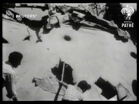 Americans find flying saucer (1949)