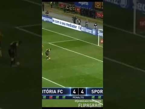 SPORTING CLUBE DE PORTUGAL VENCEDOR DA TAÇA DA LIGA 2017/2018 | Penalti da vitória William Carvalho