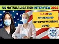 🟢  N400 US citizenship interview experience for US naturalisation in 2021