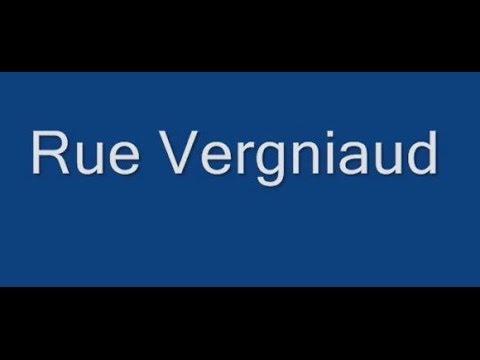 Rue Vergniaud Paris Arrondissement  13e