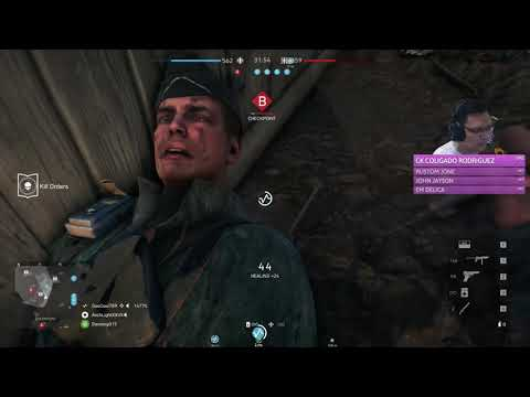 Battlefield V: Medic Gameplay. Thou shall not die in my sight. I die first |