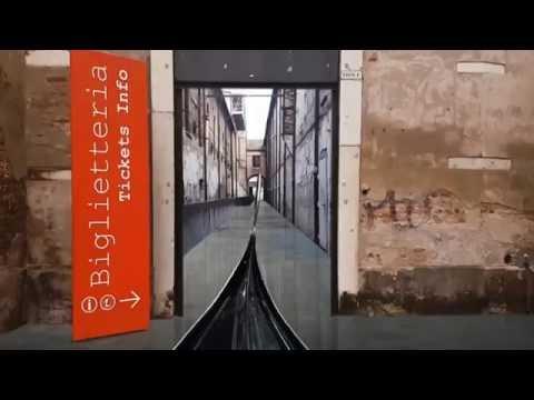 Cinema of Gondolas at Arsenale, Venice