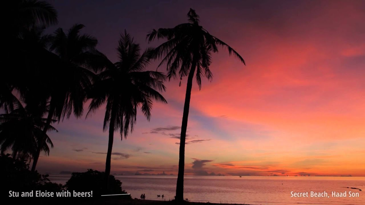 Koh Phangan Sunset Time Lapses - YouTube