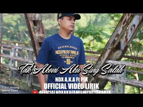 Official Video Lirik 'Tak Akoni Aku Sing Salah' Lagu Terbaru NDX A K A Ft PJR