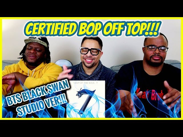 This is a Certified BOP OFF TOP!! | BTS 'Black Swan' Spotify Version REACTION