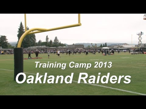 Oakland Raiders Training Camp - Marquette King and QB Tyler Wilson Interviews - 08/04/13