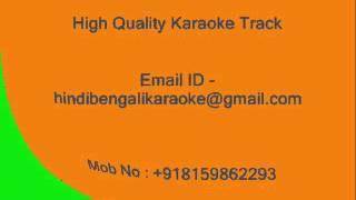 Ajo Madhur Banshari Baje - Karaoke - Mohammad Rafi - Nazrul Geeti