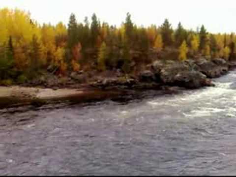 Äijäkoski rapids in Muonionjoki river
