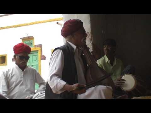 RAJASTHANI TRADITIONAL FOLKMUSICIANS : Manganiyar HAKAM KHAN Sinawara