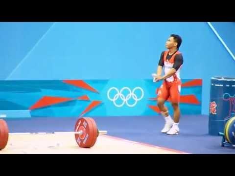 Eko Yuli Irawan di Olimpiade London 2012.flv
