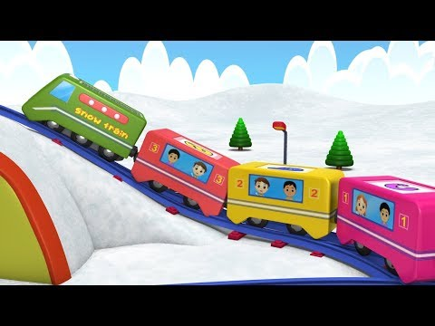 Thomas The Train - Choo Choo Train - Toy Factory - Kids Videos for Kids - Train Cartoon for Children