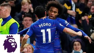 Willian39s curler puts Chelsea back in front  Premier League  NBC Sports