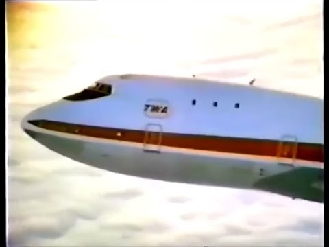 TWA 'New' 747 Commercial (Lou Jacobi, 1970)