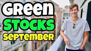 GREEN Stocks Trending Up Today | Best September Stocks