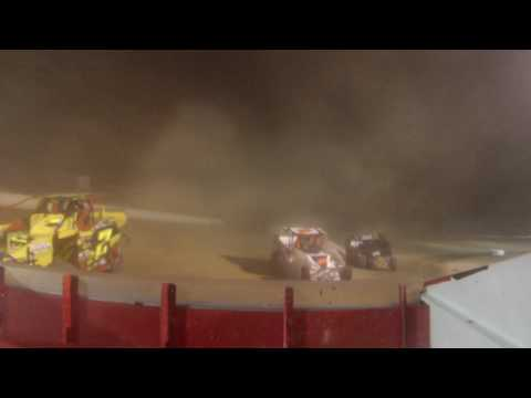 Albany Saratoga Speedway Feature 7/21/17 (Rear Camera)