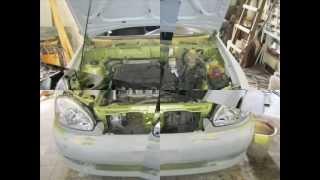 Ремонт автомобіля після аварії.avi