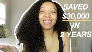 How I Saved $30,000 In 2 Years While Making $36,000 A Year! + Quarantine Day With Me