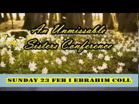 ::GUIDING LIGHTS:: Unmissable Sisters Conference - Ebrahim College, London