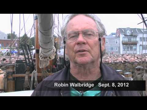 HMS Bounty and Captain Robin Walbridge Visit Eastport Maine Before The Ship