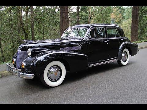 1939 Cadillac Fleetwood 60 Special. Charvet Clic Cars. - YouTube