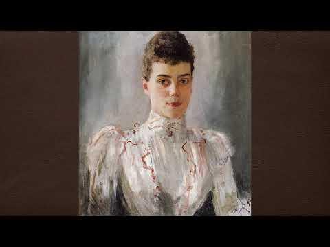 Серов Валентин Александрович (1865-1911) Женский портрет