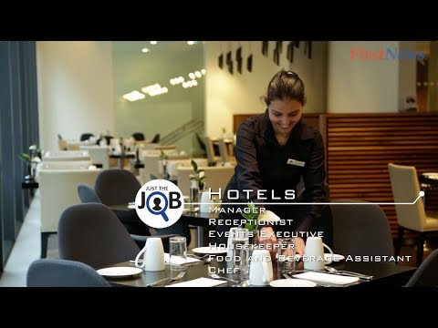 Just The Job – Working In Hotels