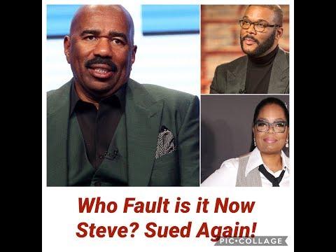 Steve Harvey Sued AGAIN! Now Who Is He Gonna Blame?
