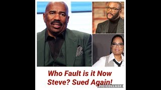 Steve Harvey Sued AGAIN! Now Who Is He Gonna Blame?