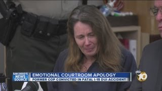 Former cop convicted in fatal DUI crash