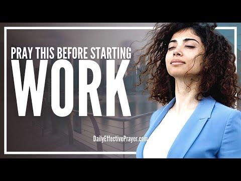 Prayer Before Starting Work | Daily Prayer For Work