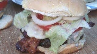 Mushroom Cheeseburgers By The Bbq Pit Boys