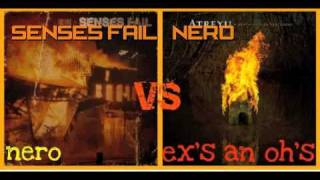 Atreyu Ex's and Oh's VS.  SENSES FAIL Nero
