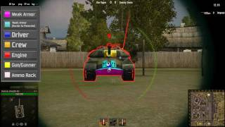 World of Tanks: IS-3 Weak Spots